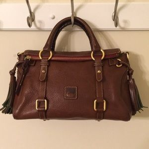 Dooney & Bourke Florentine Small Zip Satchel